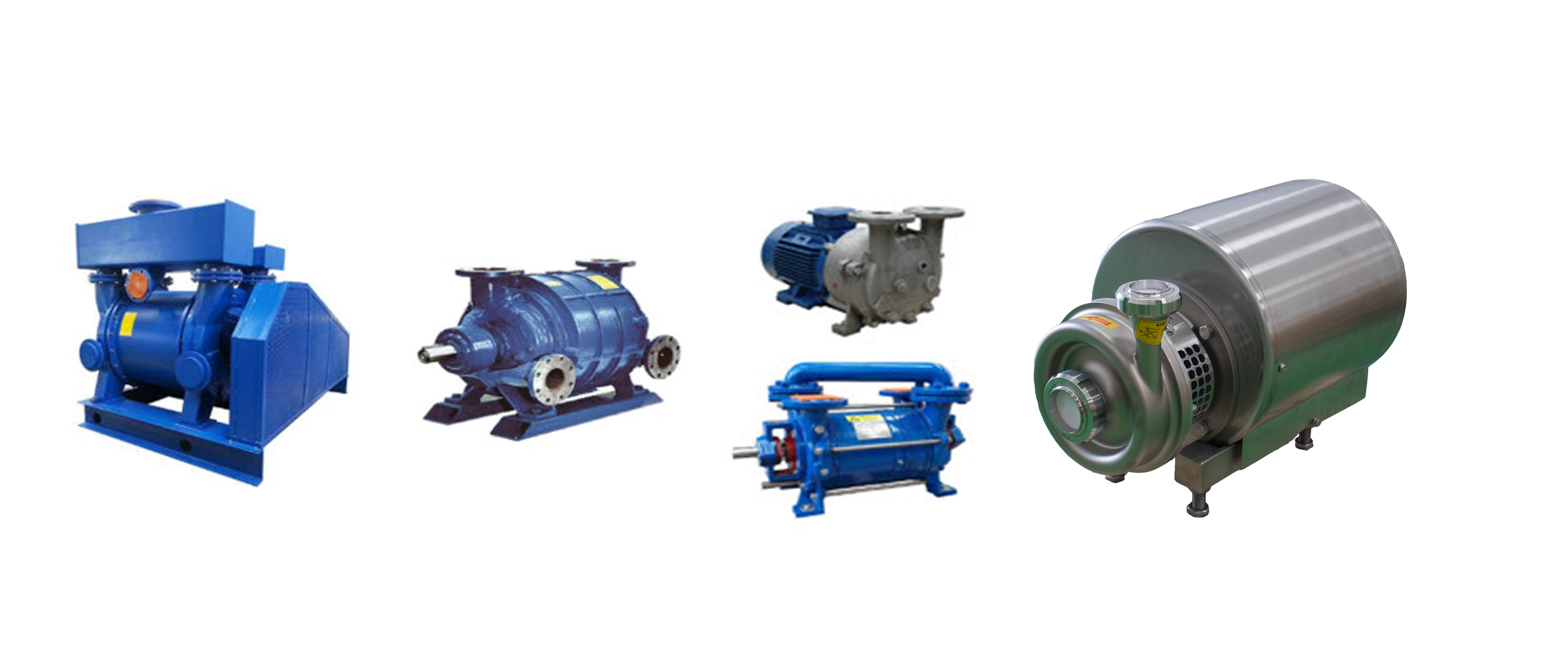 Sanitary Centrifugal Pump and VACUUM PUMP